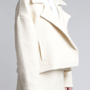 Charlie May alpaca drop shoulder jacket