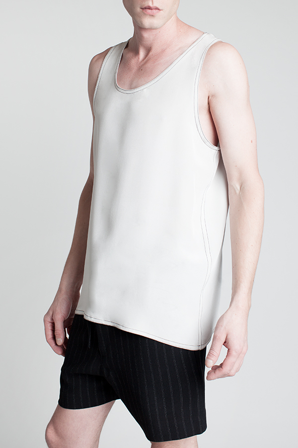 charlie-may-man-dove-grey-vest-top-front-short