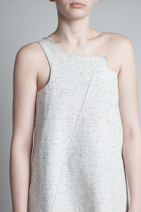 charlie-may-salt-pepper-asymmetric-one-shoulder-denim-dress-front-crop