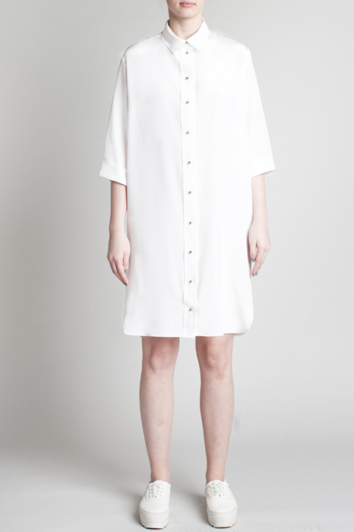charlie-may-white-silk-shirt-dress-front
