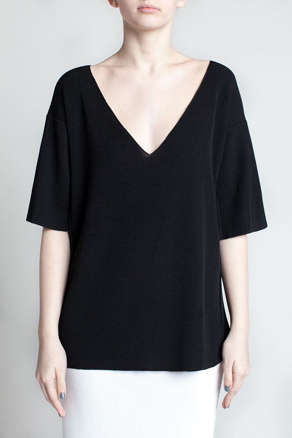 charlie-may-black-micro-knit-tee-front