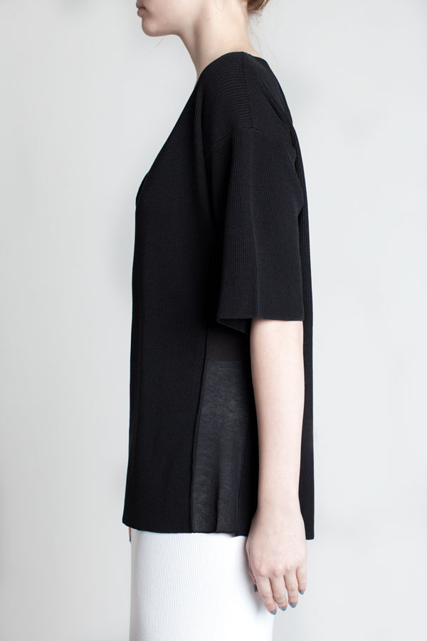 charlie-may-black-micro-knit-tee-side