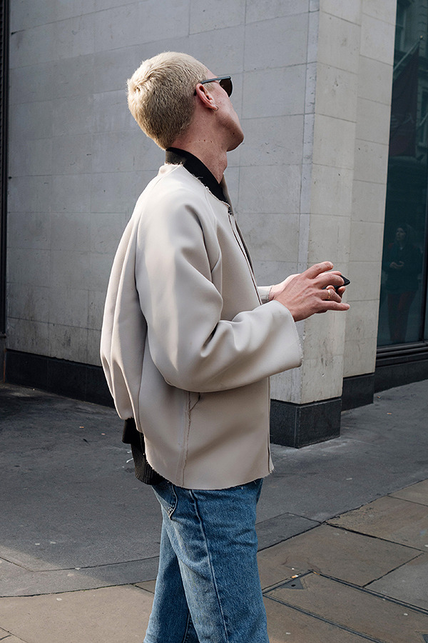 mens beige bomber jacket 01