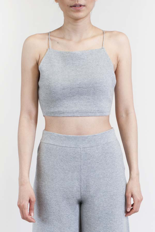 Charlie_May_Grey_Knit_Cami_Front